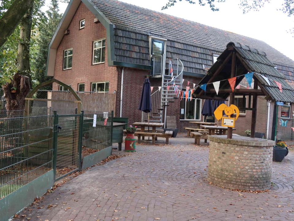 Pleintje van Kinderboerderij de Uilenburg in Hilvarenbeek